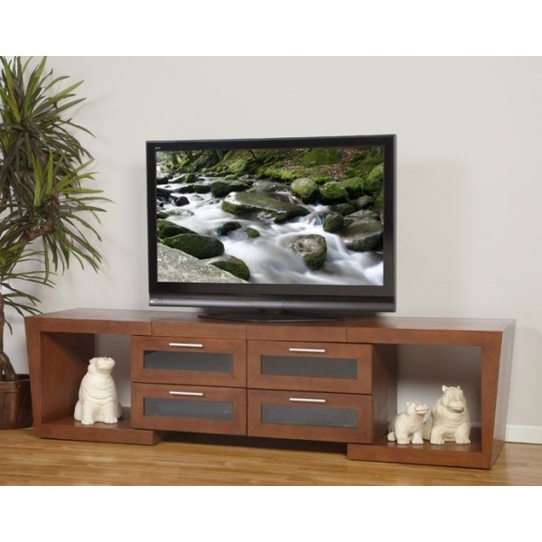 Amazing Trendy Walnut TV Stands In Valencia 5187 Tv Stands Cabinets Home Entertainment Furniture (View 38 of 50)