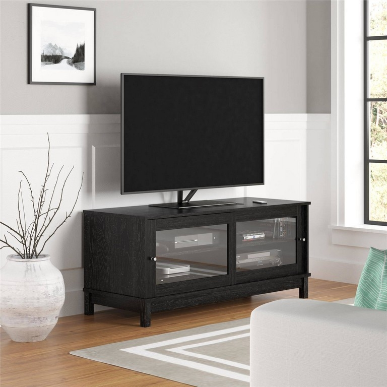 Amazing Unique Cheap Corner TV Stands For Flat Screen With Black Corner Tv Units Good Full Size Of Fireplace Tv Stand Large (Image 4 of 50)