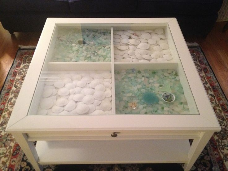 Amazing Unique Glass Top Display Coffee Tables With Drawers In Best 25 Coffee Table Displays Ideas Only On Pinterest Coffee (Image 7 of 50)