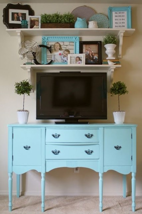 Amazing Unique Green TV Stands Intended For 4 Decorative Tv Stand Design Ideas Interior Design (Image 1 of 50)