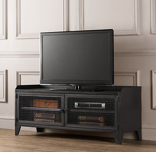 Amazing Unique Industrial Metal TV Stands Pertaining To 8 Best Tv Stands Images On Pinterest Industrial Furniture (Image 2 of 50)