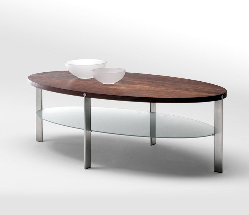 Amazing Unique Oval Wood Coffee Tables With Best Oval Coffee Tables (Image 4 of 50)