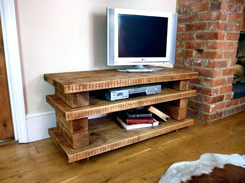 Amazing Unique Pine Wood TV Stands For Rustic Corner Tv Stand Effluvium (Image 4 of 50)