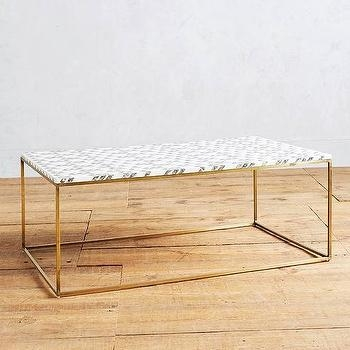 Amazing Unique White Cube Coffee Tables Inside Gold White Cube Coffee Table Products Bookmarks Design (View 15 of 40)