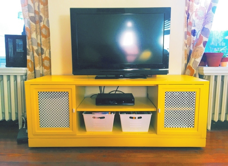 Amazing Unique Yellow TV Stands With Regard To Tv Stands Awesome Real Wood Tv Stands Oak Collection Solid Wood (View 4 of 50)