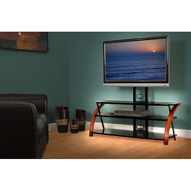 Amazing Variety Of Brown TV Stands In Avista Titan Brown 55 In Wide Tv Stand With Multi Purpose Mounting (View 39 of 45)
