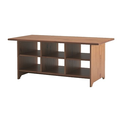 Amazing Variety Of Coffee Tables With Shelves Regarding Ikea Coffee Table Cub Holes Thesecretconsul (Image 5 of 50)