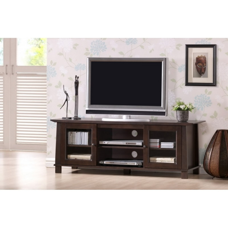 Amazing Variety Of Contemporary Wood TV Stands Intended For Havana Brown Wood Modern Tv Stand Plasma See White (Image 6 of 50)
