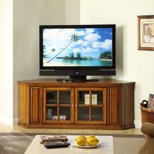 Amazing Variety Of Corner Oak TV Stands For Flat Screen Inside 9 Best Tv Stands Images On Pinterest (Image 4 of 50)