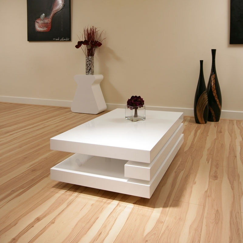 Amazing Variety Of Red Gloss Coffee Tables In Red Gloss Coffee Table (Image 1 of 40)