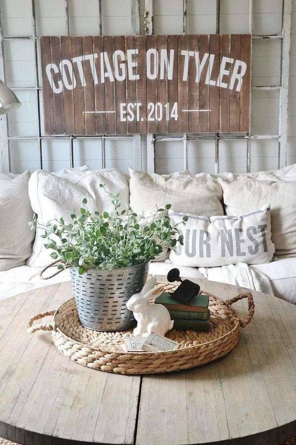 Amazing Variety Of Round Coffee Table Trays With Top 25 Best Beach Style Coffee Tables Ideas On Pinterest Beach (Image 4 of 50)