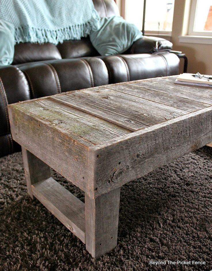 Amazing Variety Of Rustic Barnwood Coffee Tables Within Best 25 Barn Wood Tables Ideas On Pinterest Wood Tables (View 34 of 50)