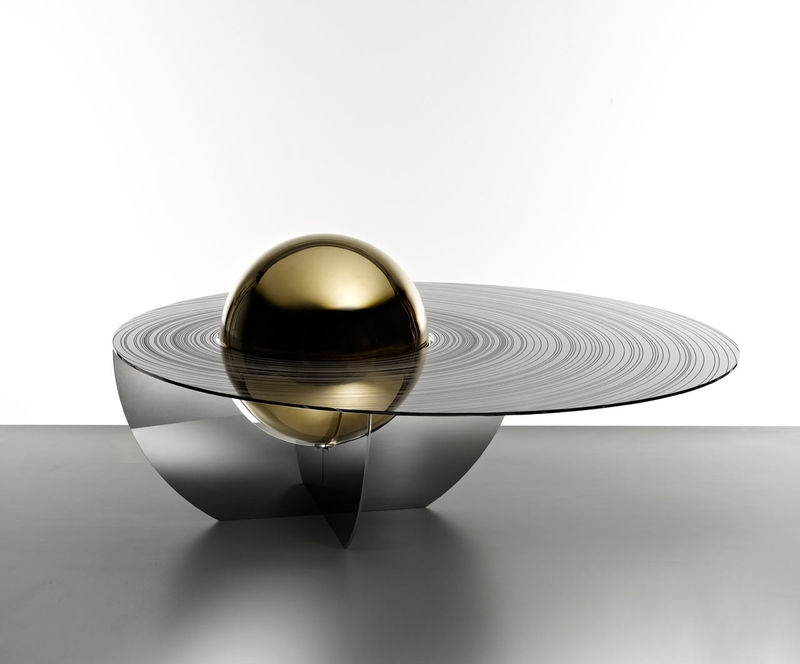 Amazing Variety Of Space Coffee Tables Pertaining To Planetary Coffee Tables Space Table (Image 3 of 50)
