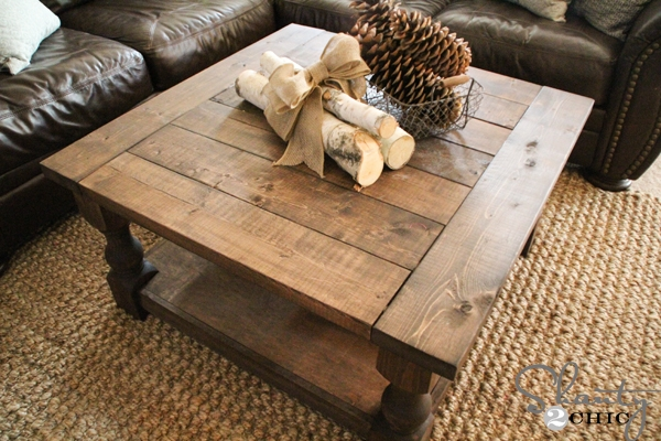 Amazing Variety Of Square Pine Coffee Tables In Ana White Corona Coffee Table Square Diy Projects (Image 4 of 50)