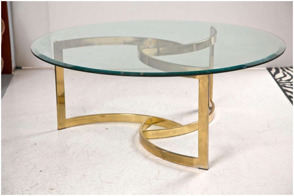 Amazing Variety Of Swirl Glass Coffee Tables Inside Vintage Swirl Glass Coffee Table Cocinacentralco (Image 3 of 50)
