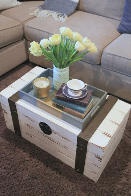 Amazing Variety Of Trunk Coffee Tables With Best 25 Trunk Coffee Tables Ideas On Pinterest Wood Stumps (Image 6 of 50)