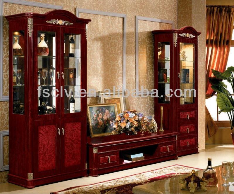 Amazing Variety Of TV Stands And Cabinets With Regard To Arab Modern Curio Cabinet And Tv Stand Beautiful Home Furniture (Image 4 of 50)
