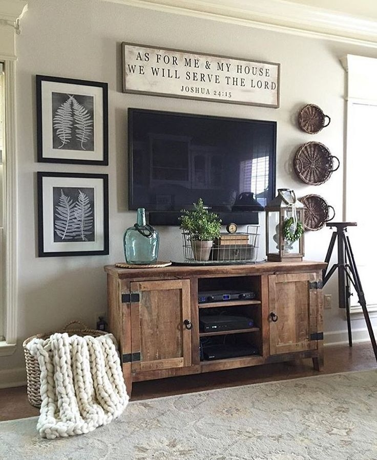 Amazing Variety Of Wall Mounted TV Stands Entertainment Consoles Throughout Best 25 Mounted Tv Decor Ideas On Pinterest Hanging Tv Tv (View 39 of 50)