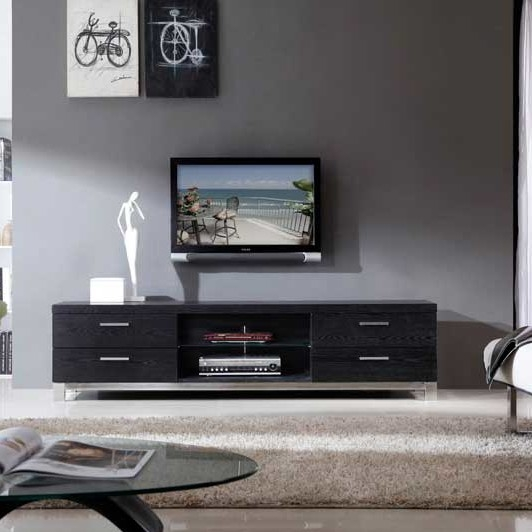 Amazing Well Known All Modern TV Stands Regarding B Modern Promoter 79 Tv Stand (Image 2 of 50)