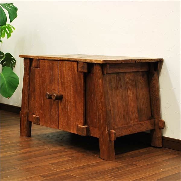 Amazing Well Known Asian TV Cabinets In Auc Mamoqq Rakuten Global Market Furniture Of The Old Teak (View 50 of 50)