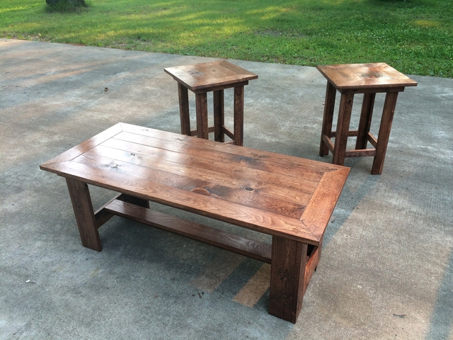 Amazing Wellknown Cheap Oak Coffee Tables Regarding Rustic Coffee Table Sets (View 39 of 50)
