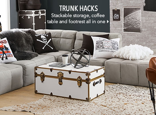 Amazing Wellknown Coffee Table Footrests Inside Teen Side Tables Coffee Tables Pbteen (Image 6 of 40)