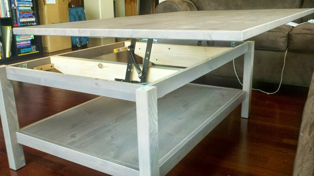 Amazing Wellknown Coffee Tables With Raisable Top With Hemnes Lift Top Coffee Table Ikea Hackers Ikea Hackers (Photo 35 of 50)