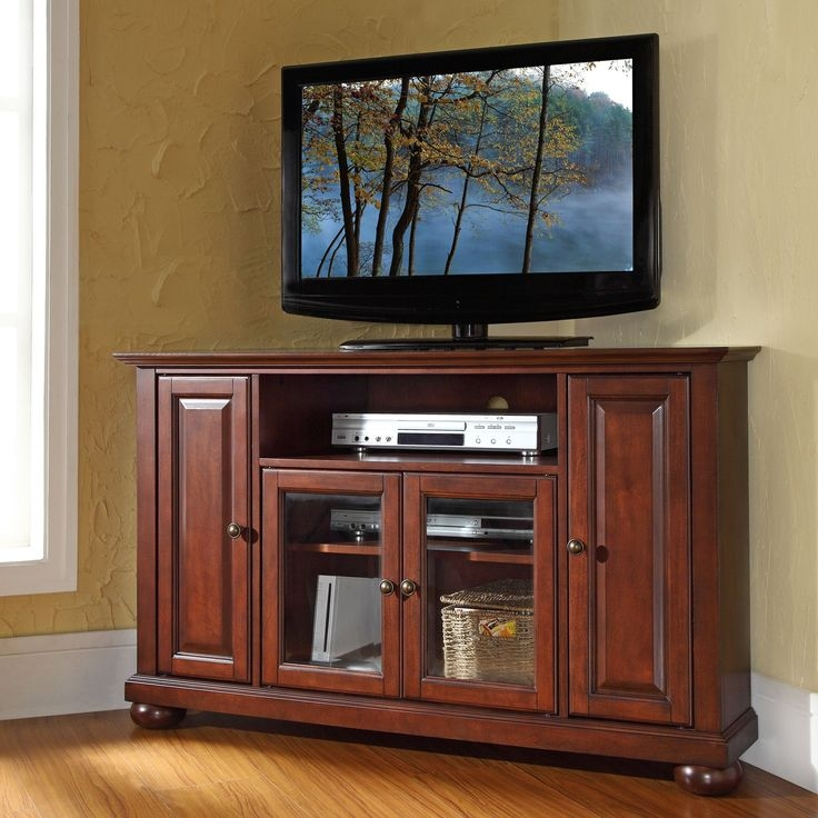 Amazing Well Known Corner TV Cabinets For Flat Screens With Doors Within 28 Best Corner Cabinet Images On Pinterest Corner Tv Stands (Image 7 of 50)