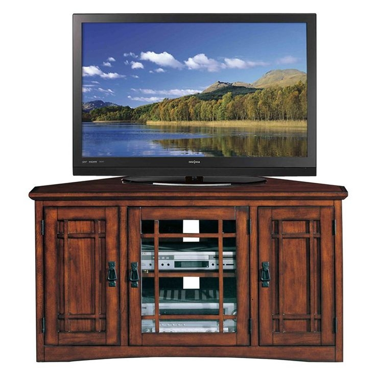 Amazing Wellknown Corner TV Stands For 46 Inch Flat Screen Throughout Best 25 Corner Tv Console Ideas Only On Pinterest Corner Tv (Image 9 of 50)