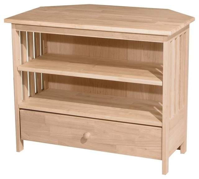 Amazing Well Known Cornet TV Stands Inside Mission Corner Tv Stand Entertainment Centers And Tv Stands (Image 3 of 50)