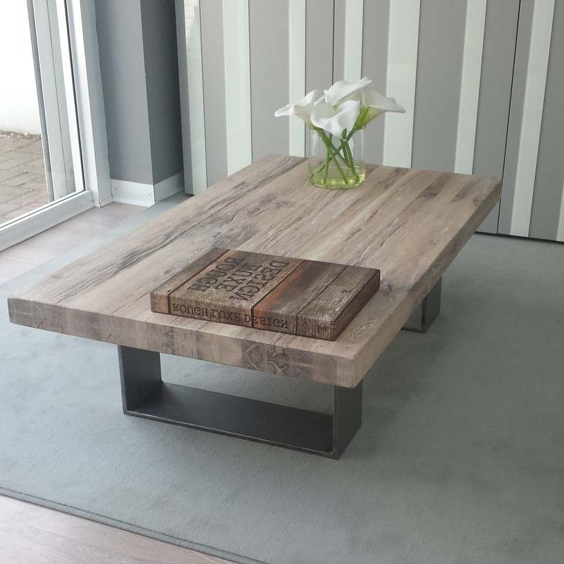 Amazing Wellknown Extra Large Rustic Coffee Tables With Regard To Big Candle All Wood Coffee Tables Extra Large Rectangular Shape (View 13 of 50)