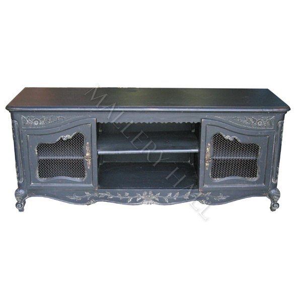 Amazing Well Known French TV Cabinets Pertaining To Carved French Country Tv Cabinet (Image 4 of 50)