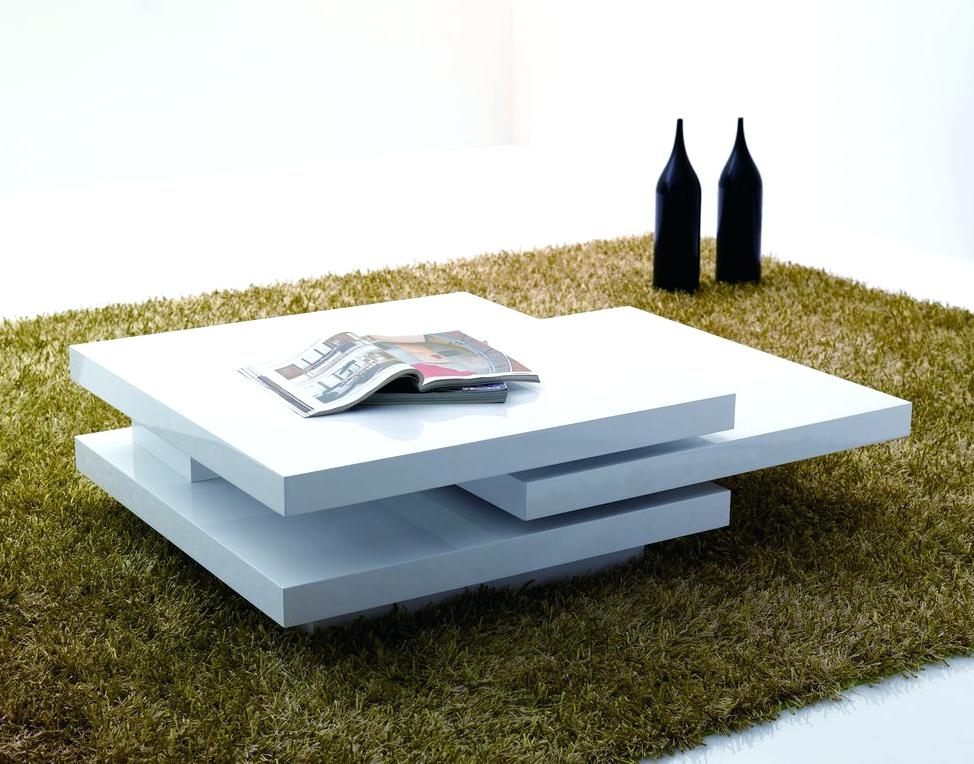 Amazing Well Known Gloss Coffee Tables Within High Gloss White Coffee Table Dealhackrco (View 20 of 50)