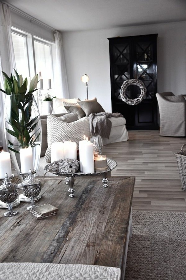 Amazing Wellknown Grey Coffee Table Sets Intended For Rustic Grey Coffee Table (Image 5 of 50)