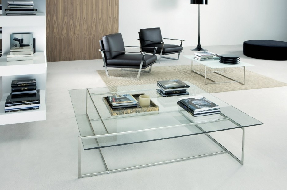 Amazing Well Known Large Square Glass Coffee Tables Intended For Metal And Glass Coffee Table Batimeexpo Furniture (Image 2 of 50)