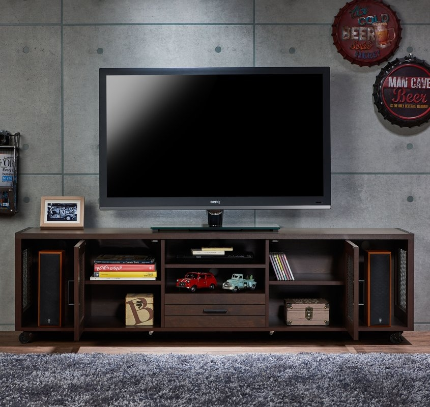 Amazing Well Known Light Oak TV Stands Flat Screen Intended For Entertainment Centers Youll Love (Image 4 of 50)