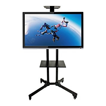 Amazing Wellknown Lockable TV Stands For Amazon Witlucky Mobile Tv Cart Rolling Tv Stand For 32  (Image 4 of 50)