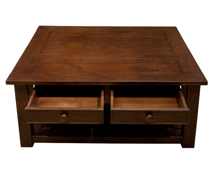 Amazing Wellknown Low Coffee Tables With Drawers For Square Coffee Tables With Drawers (Image 5 of 50)