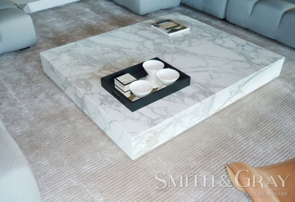 Amazing Well Known Low Japanese Style Coffee Tables In Low Marble Coffee Table Japanese Style Smith Gray (Image 3 of 50)