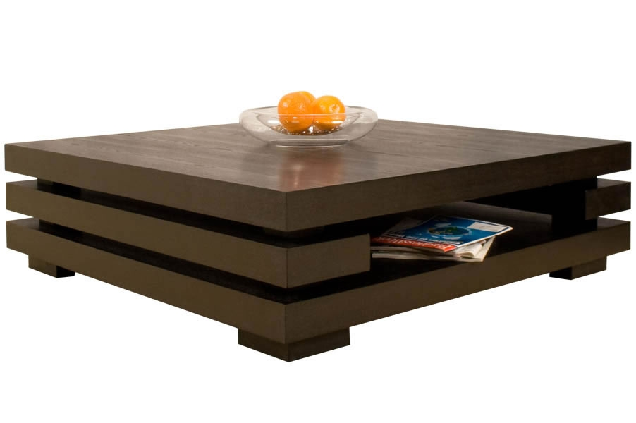 Amazing Well Known Oversized Square Coffee Tables With Large Modern Coffee Table Table And Estate (Image 4 of 50)