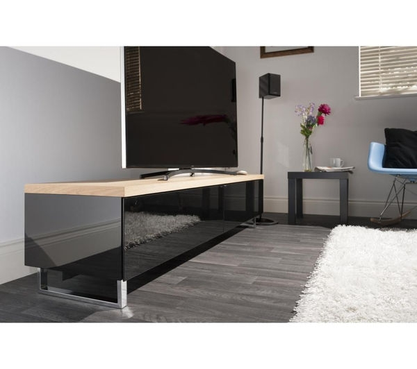 Amazing Well Known Panorama TV Stands Regarding Buy Techlink Panorama Pm160lo Tv Stand Free Delivery Currys (View 16 of 50)