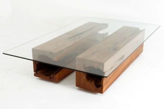 Featured Image of Reclaimed Wood And Glass Coffee Tables