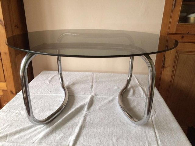 Amazing Well Known Retro Smoked Glass Coffee Tables With Glass Top Coffee Table Retro Local Classifieds Buy And Sell In (View 18 of 40)