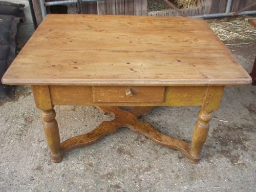 Amazing Wellknown Round Pine Coffee Tables Throughout Antiques For Antique Pine Coffee Table Wwwantiqueslabs (Image 4 of 50)
