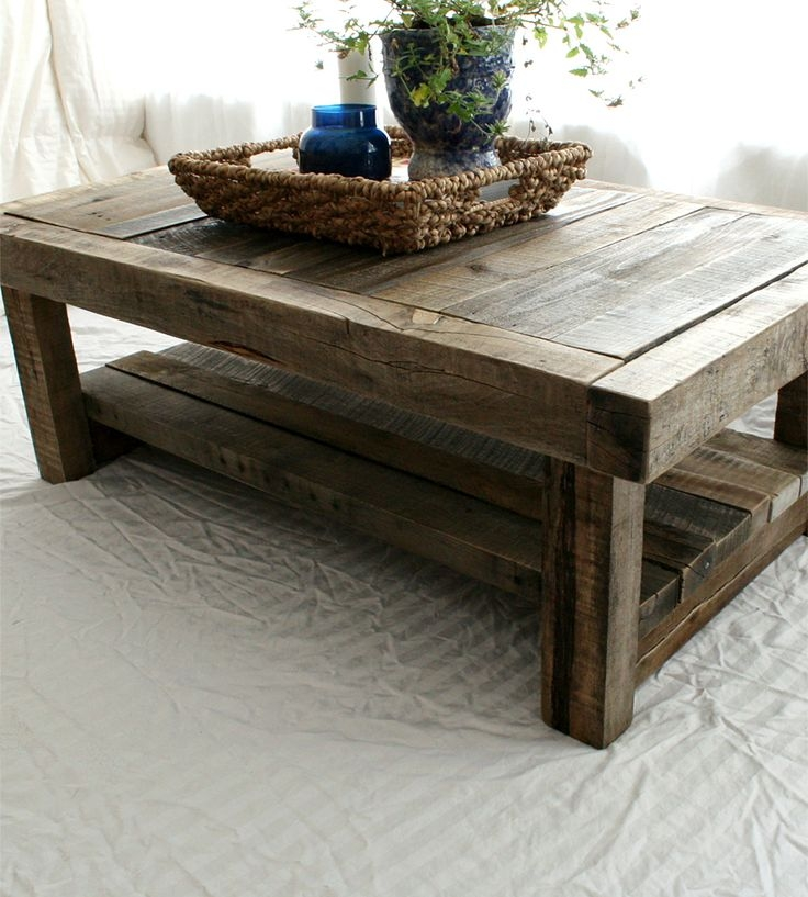 Featured Image of Rustic Barnwood Coffee Tables