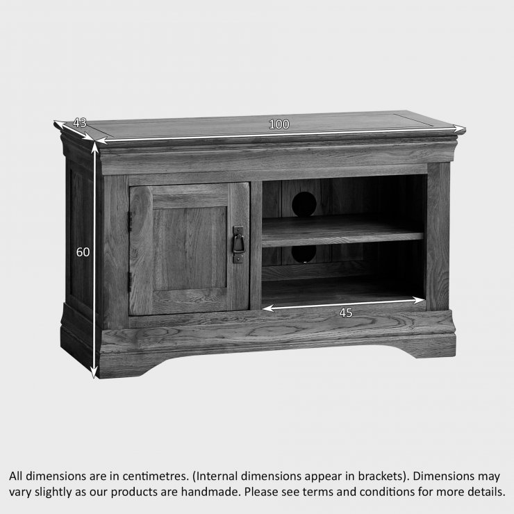 Amazing Well Known Small Oak TV Cabinets For French Farmhouse Tv Cabinet Solid Oak Oak Furniture Land (Image 5 of 50)
