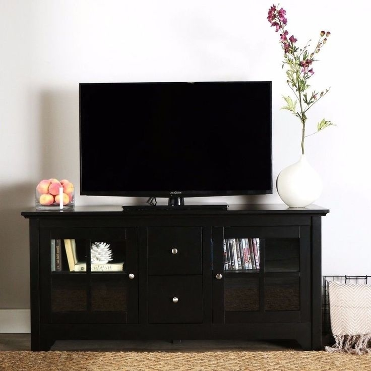 Amazing Well Known Solid Wood Black TV Stands Throughout Best 25 Solid Wood Tv Stand Ideas On Pinterest Reclaimed Wood (Image 8 of 50)