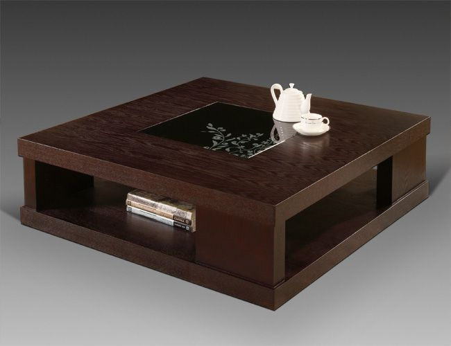 Amazing Well Known Square Dark Wood Coffee Table For 47 Best Center Tables Images On Pinterest Tables Modern Coffee (Image 4 of 40)