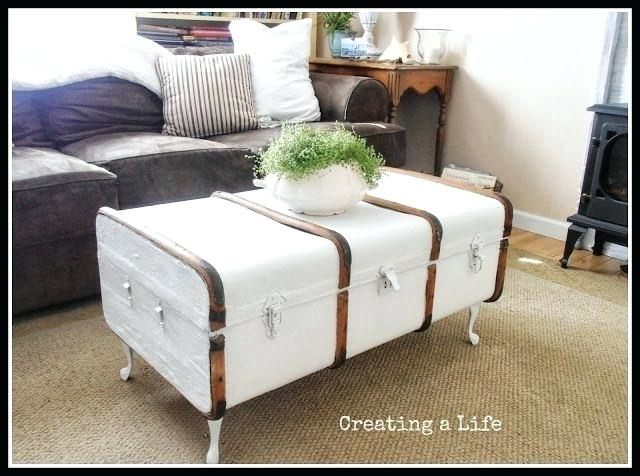 Amazing Wellknown Stainless Steel Trunk Coffee Tables Pertaining To Trunks As Coffee Tables Blackbeardesignco (View 22 of 50)