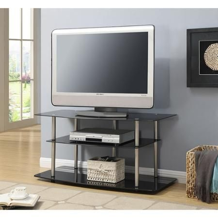 Amazing Wellliked 44 Swivel Black Glass TV Stands Inside Best 25 Black Glass Tv Stand Ideas On Pinterest Penthouse Tv (Image 3 of 50)